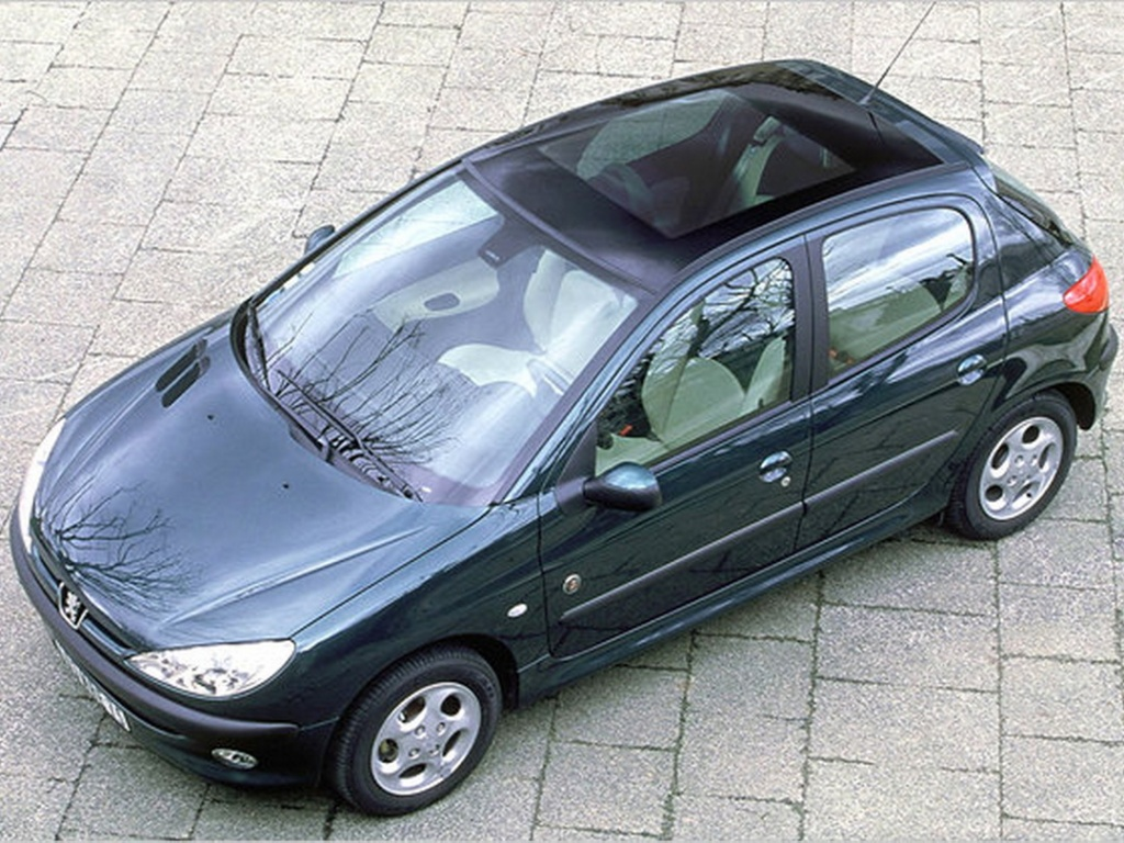 Peugeot 206 Roland Garros '00